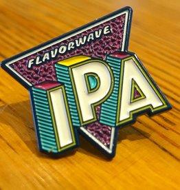 Flavorwave Enamel Pin