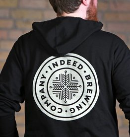 Independent Trading Co. Black Full Zip Hoodie