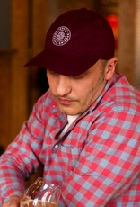 Legacy Cool Fit Adjustable Athletic Hat - Burgundy/White