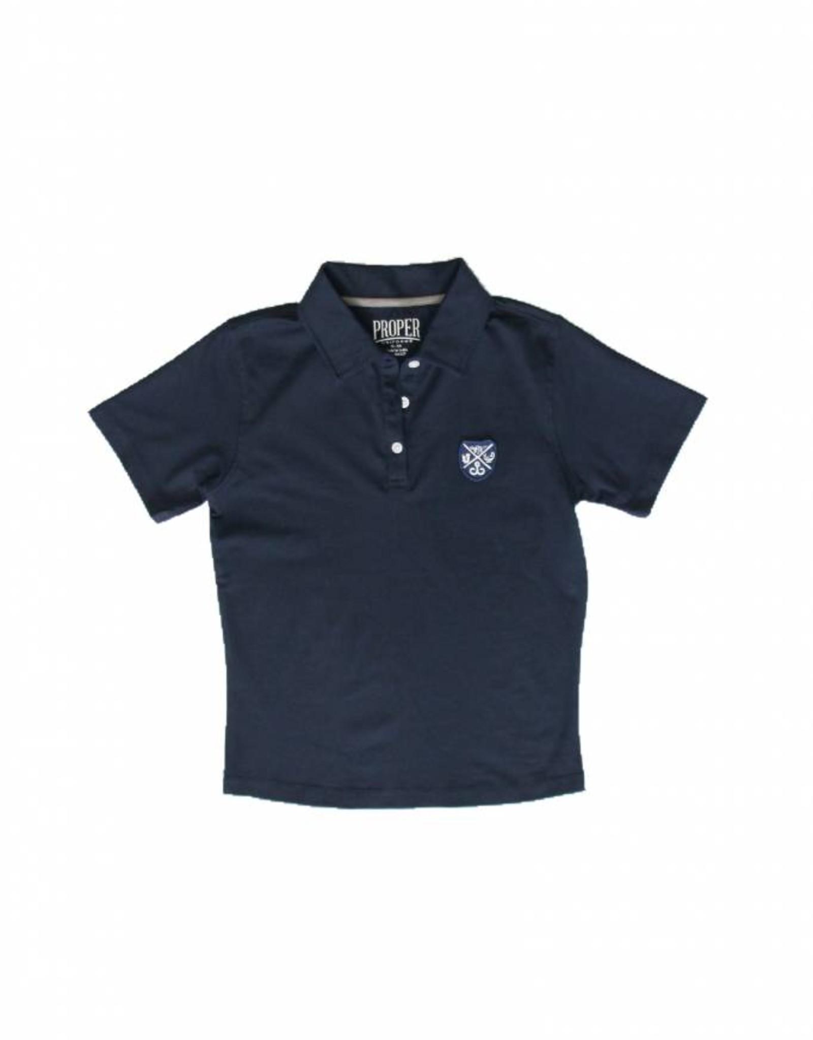 Proper Uniforms SHIRT-3 Button BANDED Adult