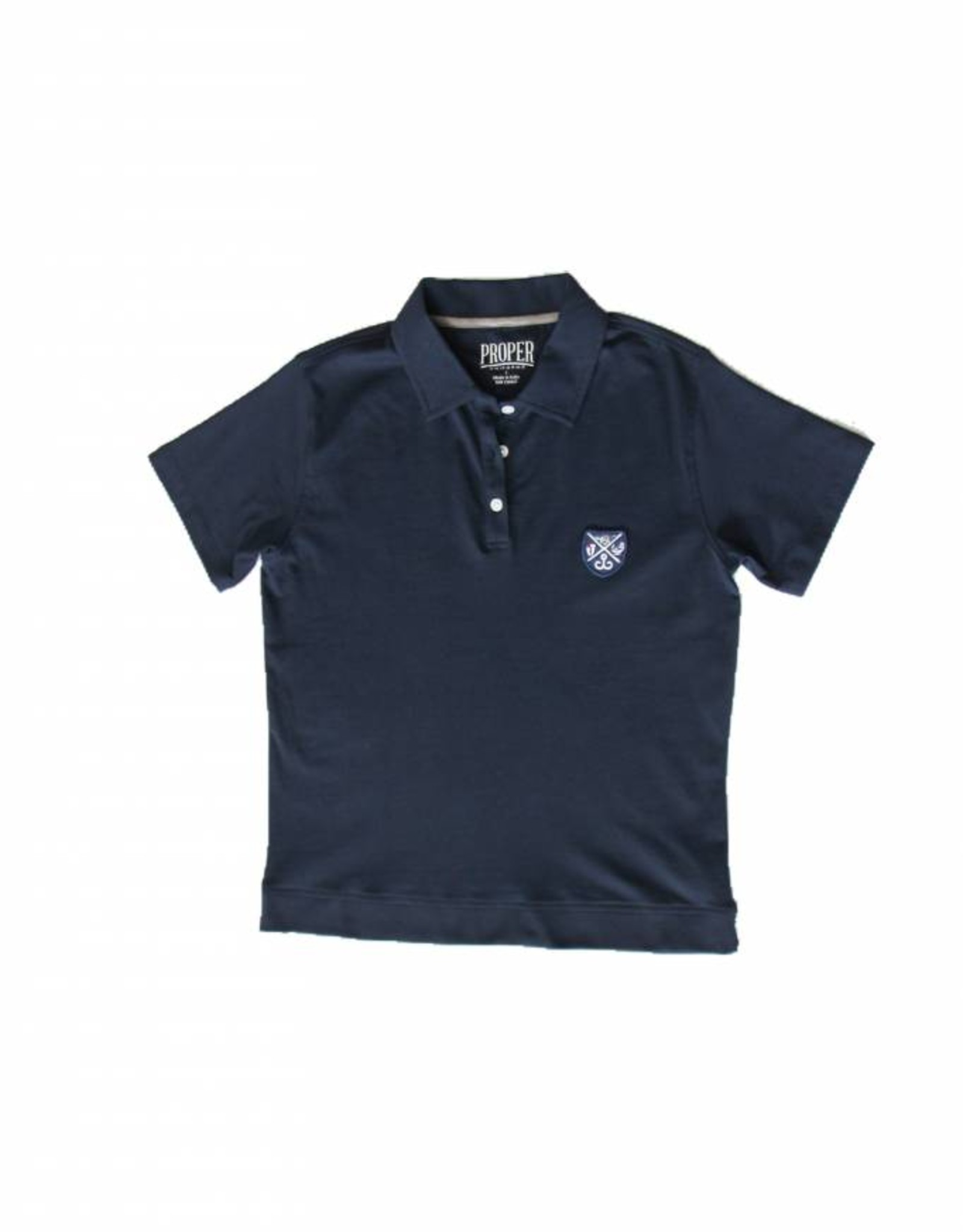 Proper Uniforms SHIRT-3 Button BANDED, Toddler