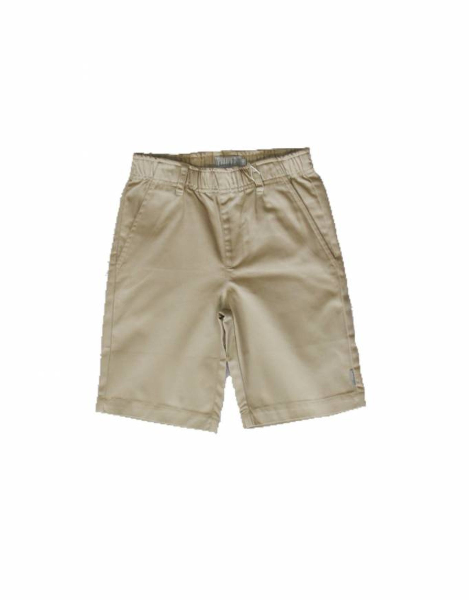 Proper Uniforms Shorts w/Elastic Youth