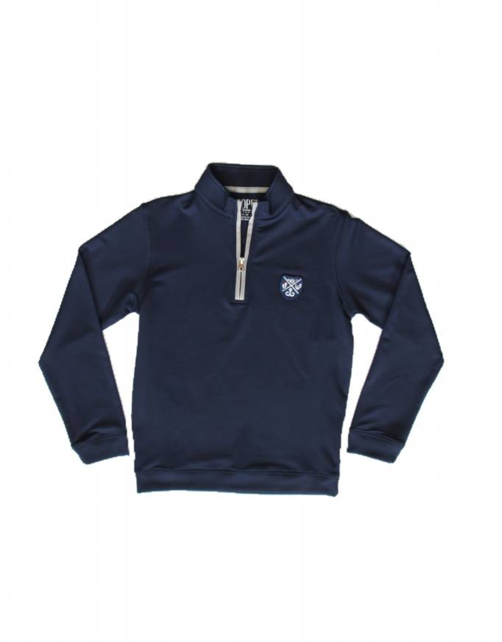 Youth 1/4 Zip Pullover 89 Poly/11 Spandex