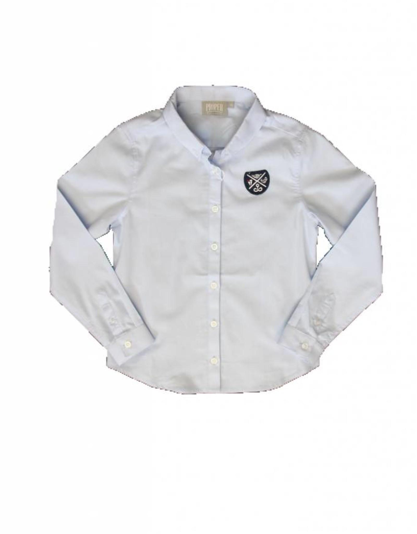Proper Uniforms SHIRT-LS Button Down, Adult