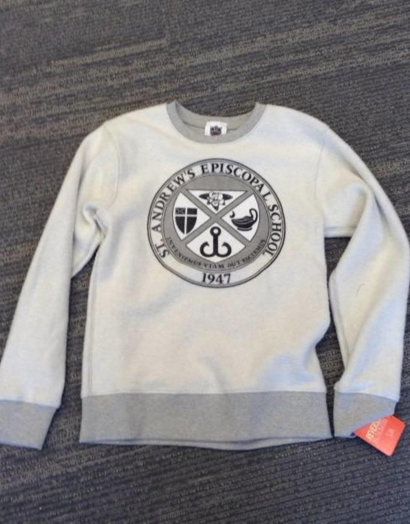 Reversable Oatmeal Sweatshirt