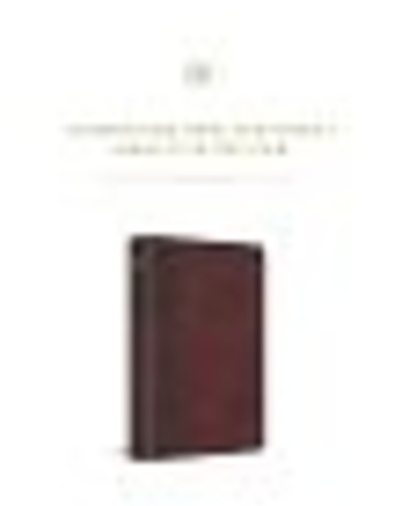 JOURNALING NT, Inductive Edition, TruTone, Burgundy/Red, Timeless Design
