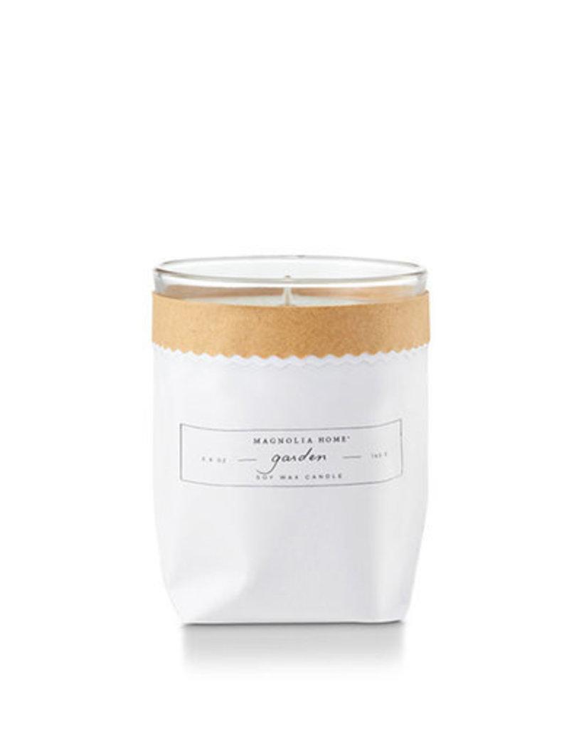 Magnolia Home:-Garden Kraft Bagged Candle