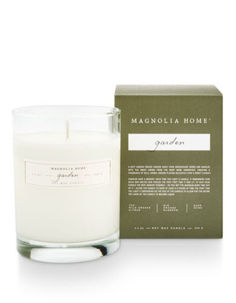 Magnolia Home- Garden Kraft Bagged Candle