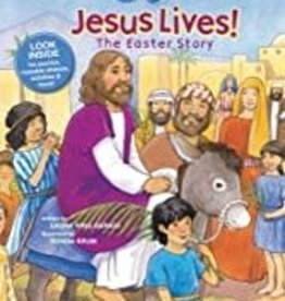 Jesus Lives! The Easter Story, Story + Activity Book (Faith That Sticks Books)