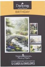 BOX CD THOMAS KINKADE BIRTHDAY  86068