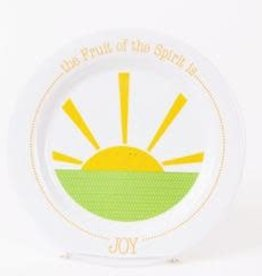 PLATE FRUIT OF THE SPIRIT IS JOY