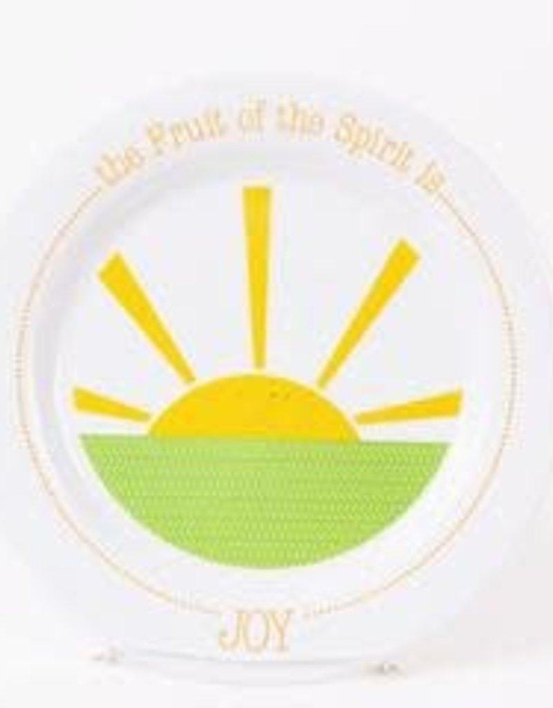 PLATE FRUIT OF THE SPIRIT IS JOY