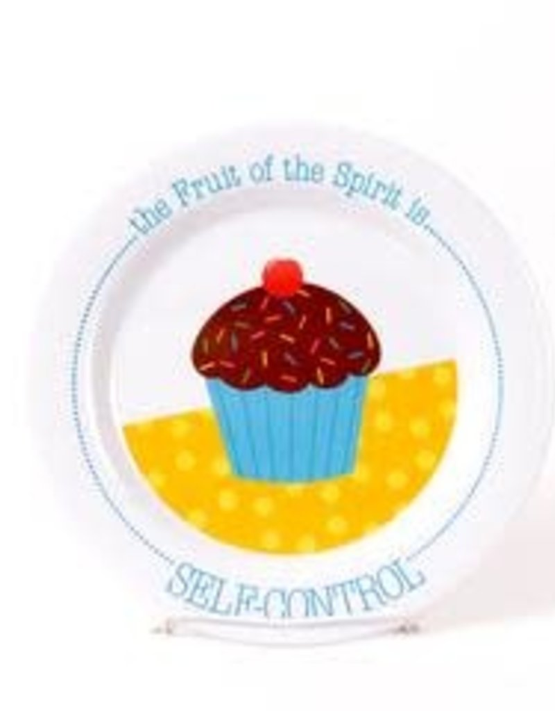 PLATE FRUIT OF THE SPIRIT IS SELF CONTROL