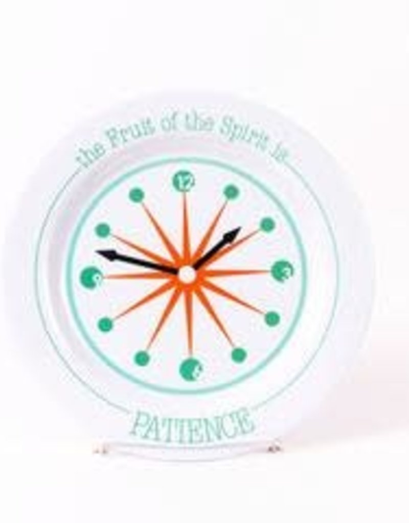 PLATE FRUIT OF THE SPIRIT IS PATIENCE