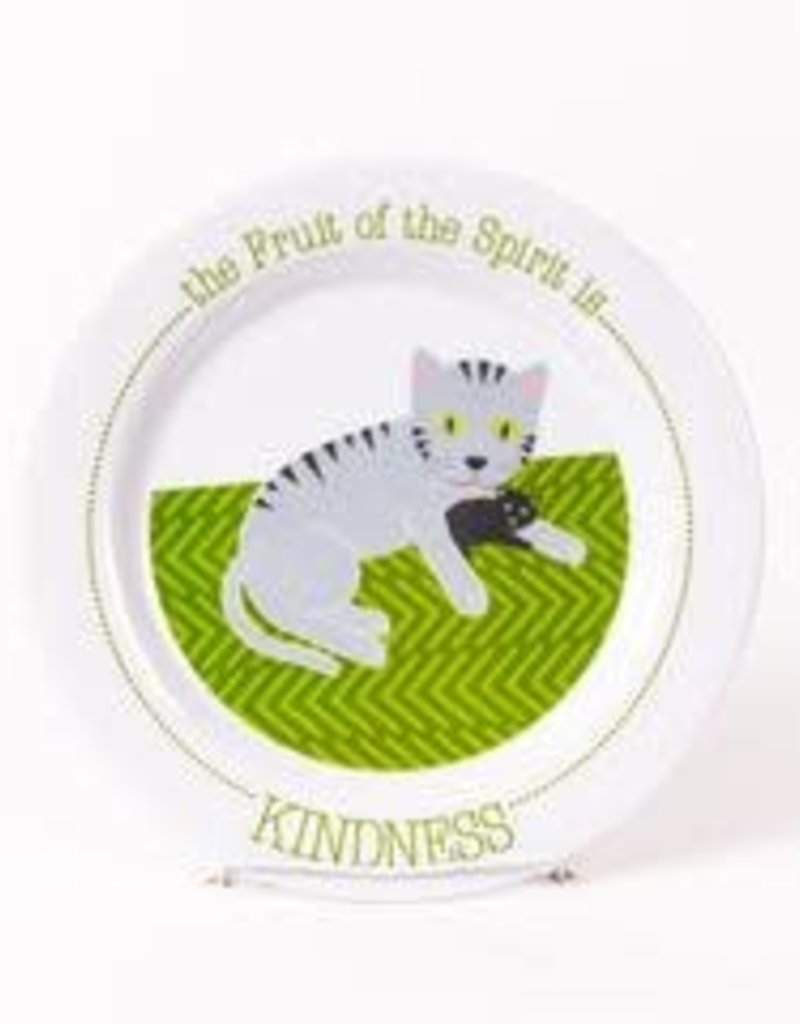 PLATE FRUIT OF THE SPIRIT IS KINDNESS