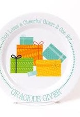 PLATE GRACIOUS GIVER