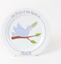 PLATE FRUIT OF THE SPIRIT IS PEACE