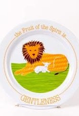 PLATE FRUIT OF THE SPIRIT IS GENTLENESS