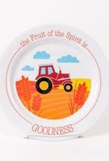 PLATES FRUIT OF THE SPIRIT IS GOODNESS