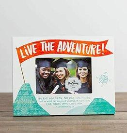 Live the Adventure Plaque