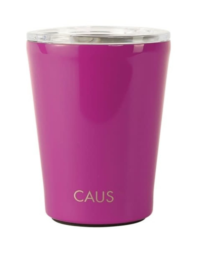 CAUS SS Coffee Tmblr Magenta Crisis Relief 26581