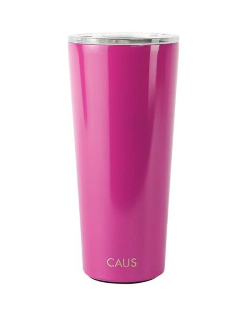 CAUS SS Large Tmblr Magenta Crisis Relief