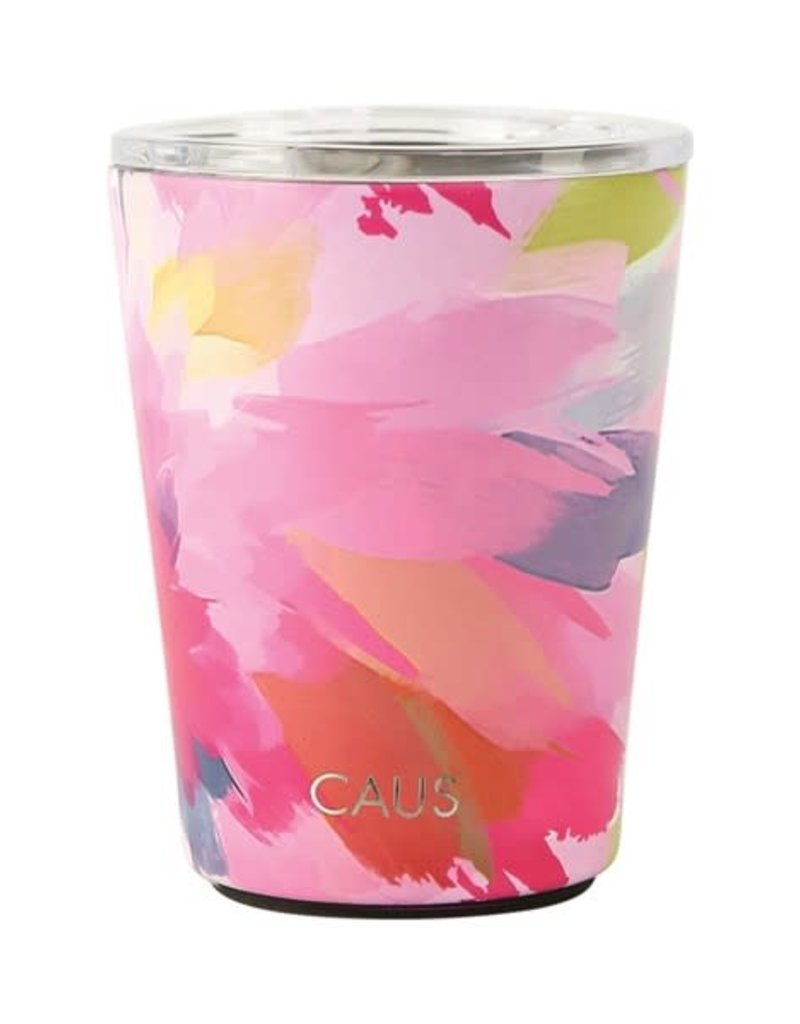 CAUS SS Coffee Tumbler w/ Handle Watercolor