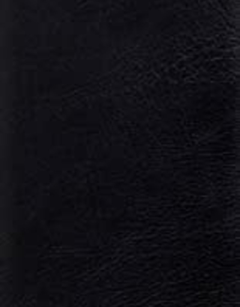 STUDY BIBLE, LARGE Print Genuine Leather Black