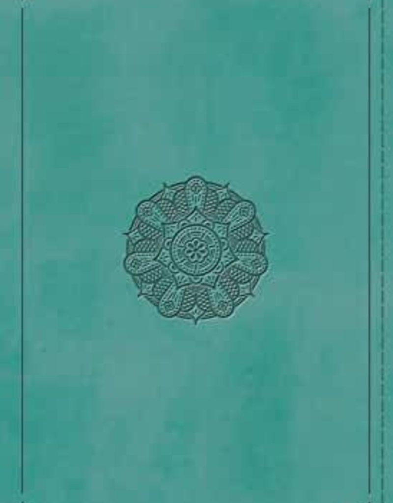 THINLINE BIBLE, Turquoise, Emblem
