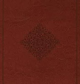 LARGE PRINT VALUE THINLINE BIBLE, TruTone, Tan Ornament Design