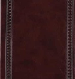 VALUE COMPACT BIBLE, TruTone, Mohagony, Border Design