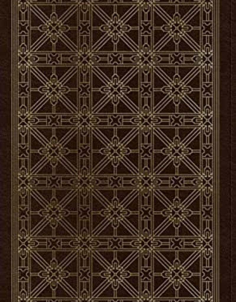 PERSONAL REFERENCE BIBLE, TruTone, Brown, Cross Grid Design