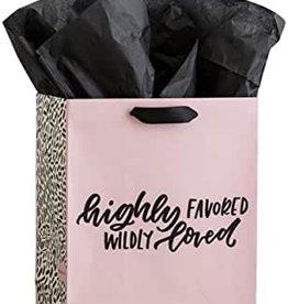 Gift Bag Highly Favored Wildly Loved Gift Sack 71401