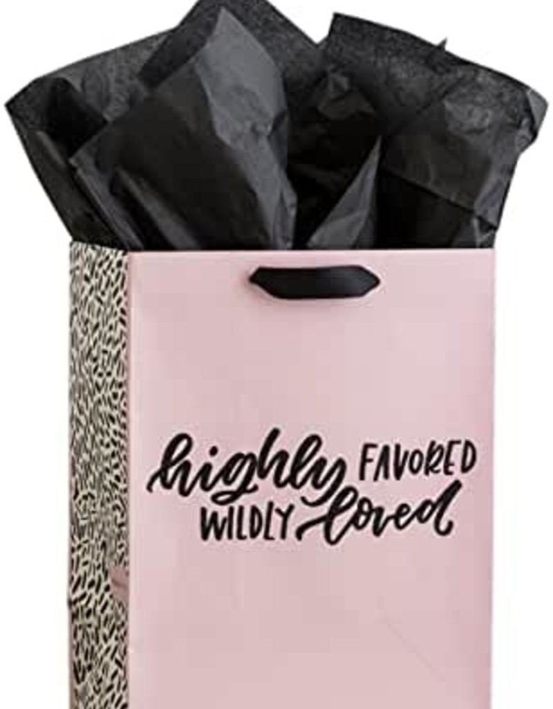 Gift Bag Highly Favored Wildly Loved Gift Sack 71401