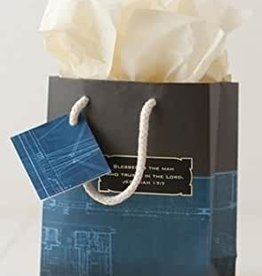 Gift Bag Blessed is the Man (small)  46767