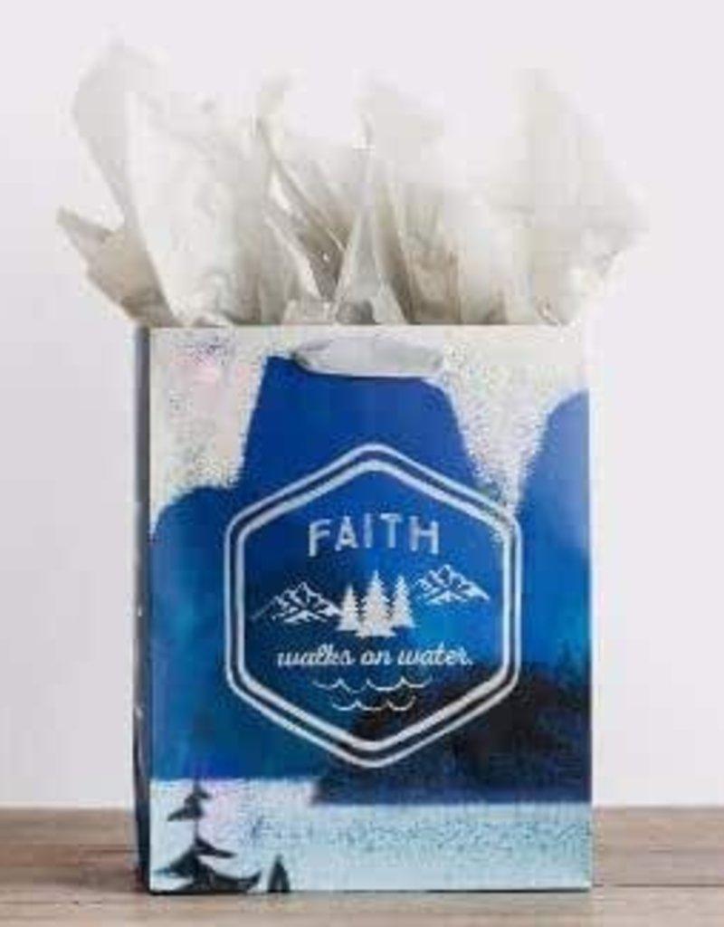 Gift Bag Faith Walks on Water - 91587