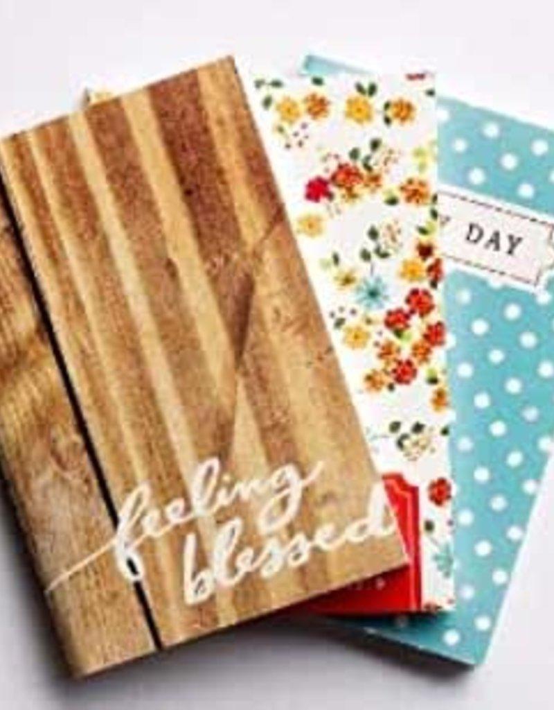 Pocket Notebook Set  (3)  10434