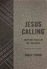 Jesus Calling ( Textured Gray Leathersoft)