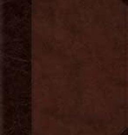 REFERENCE, PERSONAL BIBLE, TruTone, Brown/Walnut, Portfolio Design