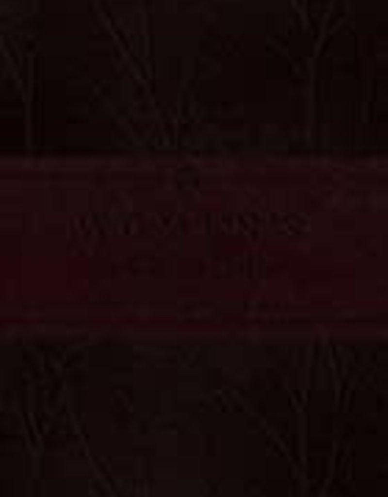 WOMEN'S DEVOTIONAL BIBLE, Burgundy, Birch Design
