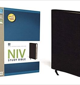 STUDY BIBLE -Black Bonded Leather
