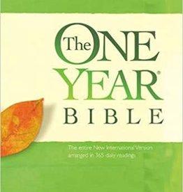 The ONE YEAR BIBLE , Premium Slimline Large Print edition