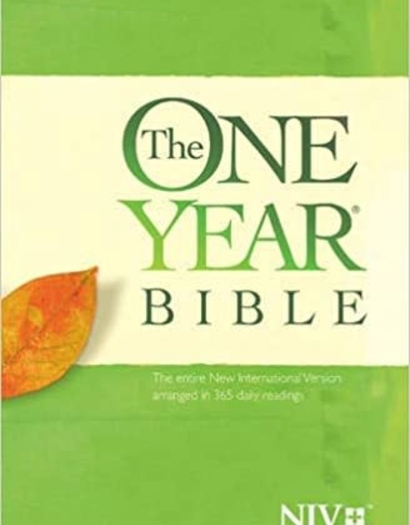 The ONE YEAR BIBLE , Premium Slimline Large Print edition