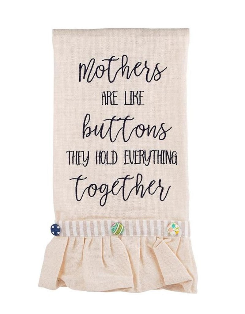 Tea Towel - Mothers are like Buttons