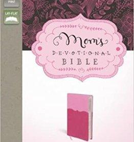 MOMS DEVOTIONAL BIBLE -Pink/Hot Pink DuoTone