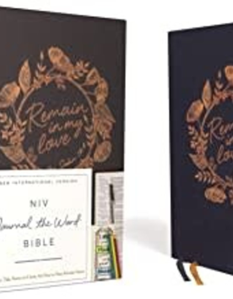 JOURNAL the WORD BIBLE, Cloth over Board, Navy, Red Letter Edition, Comfort Print