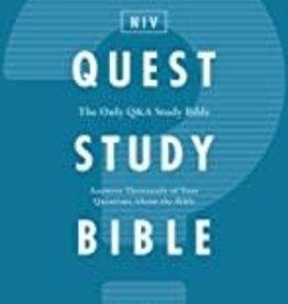 QUEST STUDY BIBLE, Hardcover, Comfort Print