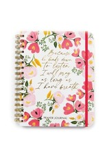 Prayer Journal - Floral - I Will Pray As Long As I Have Breath