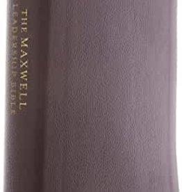 The MAXWELL LEADERSHIP BIBLE- Black