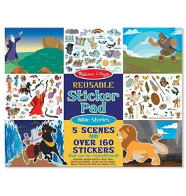 Melissa & Doug Reusable Sticker Pads Set: Bible Stories